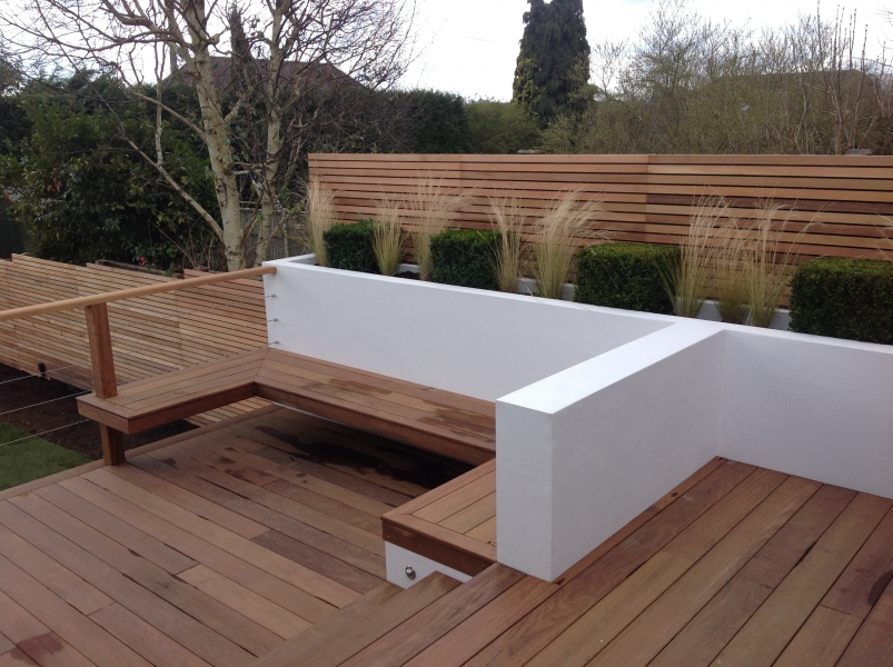 Western Red Cedar 20x45 PAR with Ipe 21x145mm Decking