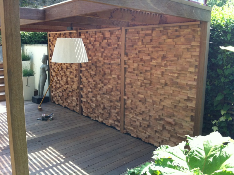 Western Red Cedar 45 x 145mm P.A.R. end grain