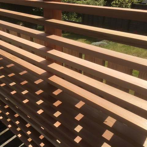 Western Red Cedar 18 x 38mm P.A.R. Fencing