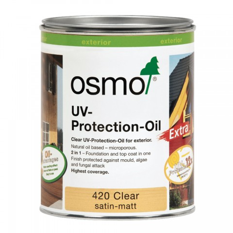 Osmo 420 Clear UV Protection Oil