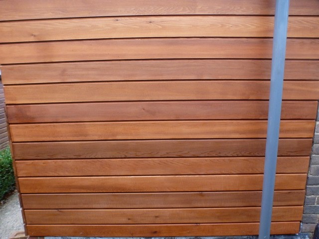 Western Red Cedar 18 x 144mm Channel Groove ST10