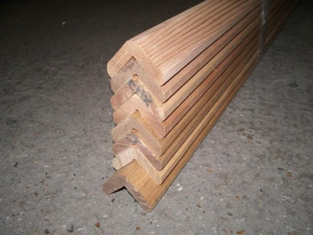 Western Red Cedar 45x45mm L Section